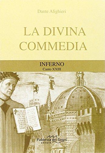 Divina Commedia. Inferno canto 23°