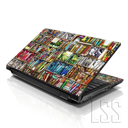 LSS 17 17.3 Pollici Laptop Notebook Skin Cover adesiva Decal Adatta per 16.5' 17' 17.3' 18.4' 19' HP Dell Apple Asus Acer Lenovo Asus Compaq (2 adesivi sotto polsi inclusi gartuitamente) Books