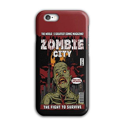 Überleben Kampf Zombie Überleben Kampf iPhone 6 / 6S Hülle | (Überlebens Zombie Kostüm)