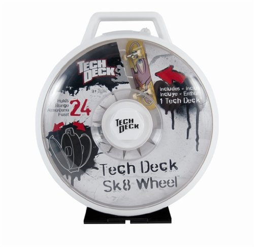 Tech Deck - 6014724 - Finger Skate - Display Wheel + 1 Skate - Assortiment