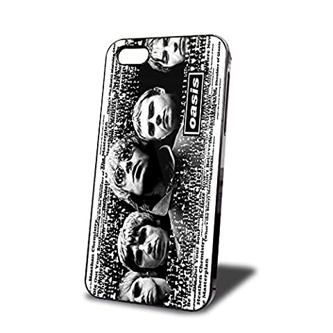 Coque iPhone Case Custom Oasis Band Vintage Hard Case (Coque