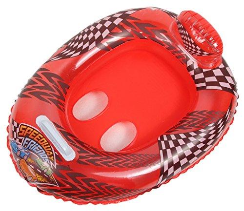 EOZY Baby Schwimmhilfe Schwimmring Schwimmsitz Babysicherheitsring Rot