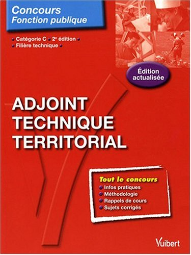 Adjoint technique territorial : Catgorie C
