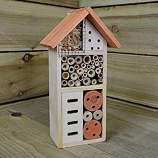 13 cmx 8.5cm x 26cm Outdoor Garden Wooden Insect Hotel - Orange 13 cmx 8.5cm x 26cm Outdoor Garden Wooden Insect Hotel – Orange 51Dgxg9r2RL