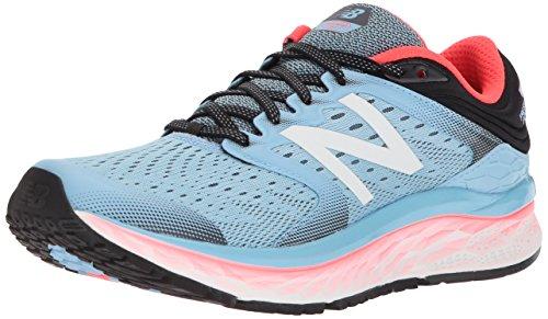 New Balance 1080v8, Zapatillas de Running para Mujer, Azul (Clear Sky/Vivid Coral/Black Clear Sky/Vivid Coral/Black), 40 EU