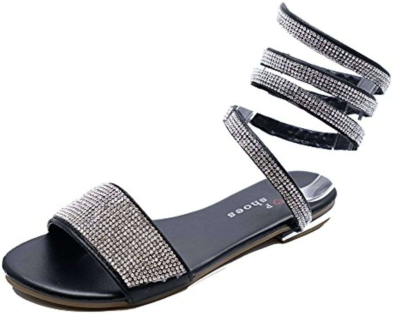 34bb73cabe26ed heelzsohigh mesdames noir mat glisse sur diaFemmete twist sandales tongs  tongs tongs slider mules taille b07fyldbh4 parent chaussures   De Gagner  Une Grande ...