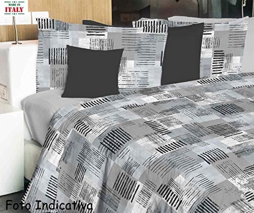 Casa tessile telo arredo in puro cotone modern - doppio