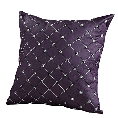 cheers-online-square-multicolored-plaids-pillow-case-cushion-cover-home-sofa-bed-decor-purple