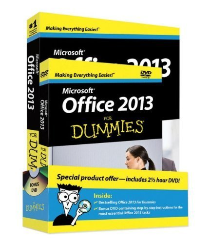 Office 2013 For Dummies, Book + DVD Bundle by Wang, Wallace (2013) Paperback