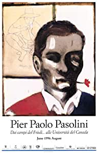 Pier Paolo Pasolini Affiche Movie Poster (11 x 17 Inches - 28cm x 44cm) French