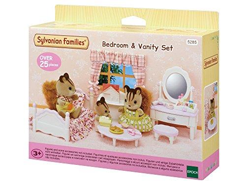 Sylvanian Families 5285 - Schlafzimmer- und Schmink-Set, bunt