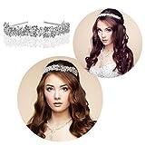 Hairband-Foxnovo Bridal Crowns Headband ...