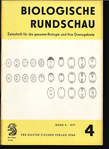 Autozidverfahren in der Schädlingsbekämpfung. Teil 1, in: BIOLOGISCHE RUNDSCHAU, Band 9, Heft 4, 1971.