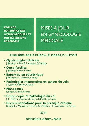 Mises à jour en gynécologie médicale par Francis Puech, Emile Daraï, Dominique Luton, Collectif