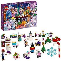 LEGO Friends - Calendario de Adviento 2019, Set de Construcción para Navidad, Incluye Adornos para el Arbol (41382)