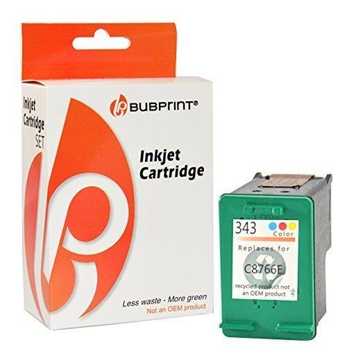 Bubprint Druckerpatrone kompatibel für HP 343 HP343 für Deskjet 5900 5940 5950 6840 6940 6980 Officejet 100 150 Mobile 6300 6310 6315 H470 K7100 Farbe (Hp 100 Printer Mobile)