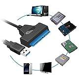 seasaleshop USB 3.0 zu SATA Adapter Kabel Super Speed 2.5