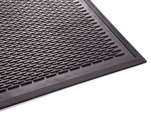EnviroMats 14040600 Clean Step Alfombra 1.20 x 1.80, Negro