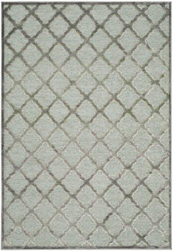 Safavieh Anguilla gewebter Teppich, PAR350-2710, Grau / Spruce, 121 X 170  cm