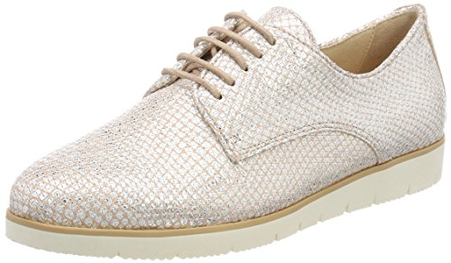 Caprice Damen Oxfords, Pink (Rose Structure 540), 40 EU