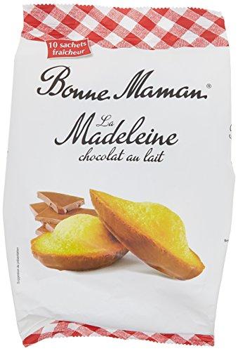 Bonne-Maman Madeleines Chocolat au Lait 300 g - Lot de 2
