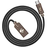 Zebronics ZEB-UMC120ZB Micro USB Data / Sync Sleeved Cable For Android Phone Premium Grade (Black)