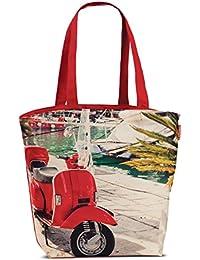 45dbe363e8ebe Oldtimer Kuba Badetasche Strandtasche Retro Umhängetasche Freizeit Strand  Tasche Einkaufstasche