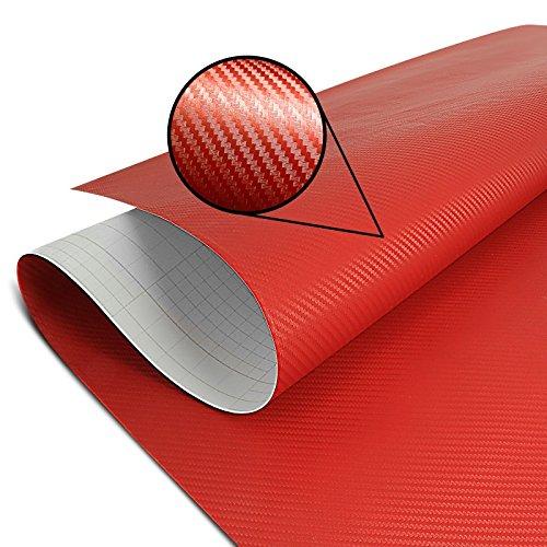 Wrapping Schutzfolie Carbon rot 75x100cm Honda CB 1000 CB1000 R, CB 300 F, CB 650 F, CBF 1000/ F, CBF 600 S, CBR 1100 CBR1100 XX, Crossrunner, Crosstourer, NC 700 S/ X, NC 750 S/ X, Hornet 600