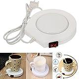 Inovey 220V Weiß Elektrisch Powered Tassenwärmer Heizung Pad Kaffee Tee Milch Tasse Uns Stecker