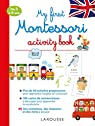 My first Montessori activity book - Cahier de vacances par Barusseau