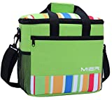MIER 15L Large Insulated Lunch Bag Picnic Cool Bag for Men and Women