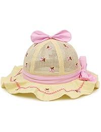 Huifang gorra QFFL xiajibaidamaozi Sombrero Visor Transpirable Sombrero  para el Sol Gorro Infantil para Bebés Gorra da60e6327db