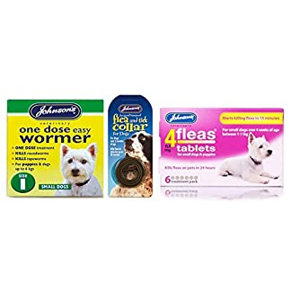 Pet Connection Flea, Tick & Worming Kit (Size 1: Small Dog (0-6kg)) 14