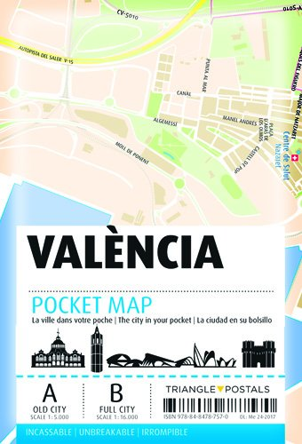 Pocket Map València por Aa.Vv.