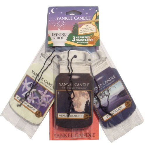 yankee-candle-evening-stroll-car-freshener-jar-variety-pack-multi-colour-pack-of-3