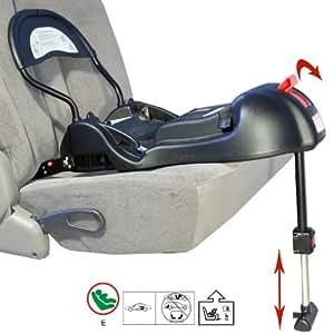 Base isofix pour siège auto bébé coque cosy G0+, noire