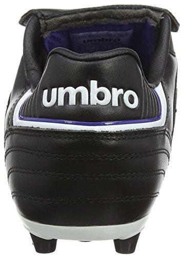 Umbro Herren Speciali Eternal Pro Ag Fußballschuhe Schwarz (Dju-Black/White/Clematis Blue)