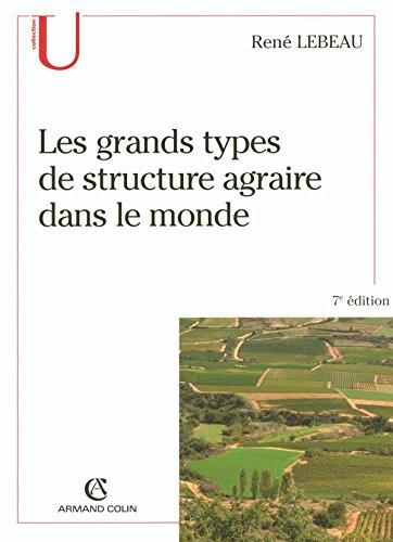 Les grands types de structure agraire dans le monde