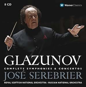 Glazunov : Complete Symphonies & Concertos