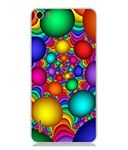 PrintVisa Designer Back Case Cover for Huawei Honor 6 (Rich Red Green Blue Colours)