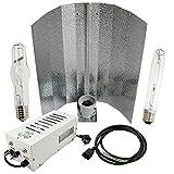 Cultivalley 400W Grow-Set, Profi Pflanzenbeleuchtung, Plug & Play Bausatz mit NDL Natriumhochdruck-Leuchtmittel HPS für die Blüte & Halogen-Metalldampflampe MH Wuchslicht, Pflanzenlicht