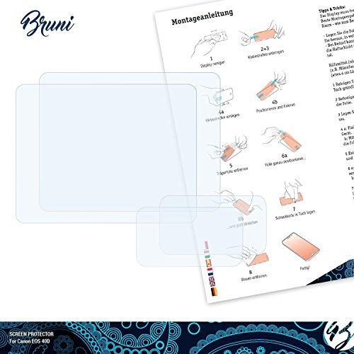 2X Bruni Pellicola Protettiva per Olympus E-M5 Mark II Pellicola Proteggi cristallino Proteggi Schermo
