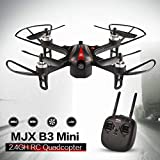 MJX B3 Mini 2.4GH Brushless Motor Drone 3D Flips RC Quadcopter mit LED-Licht