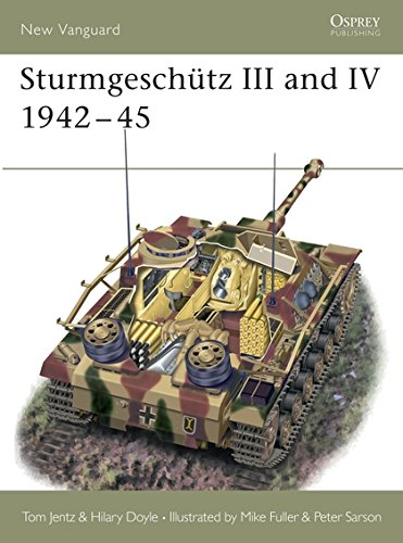 Sturmgeschütz III and IV 1942-45 (New Vanguard) por Hilary Doyle