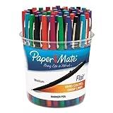 Paper Mate Flair Felt Tip Marker Pen, Assorted Ink, Medium, 48 Pens/Set (PAP4651) by Paper Mate