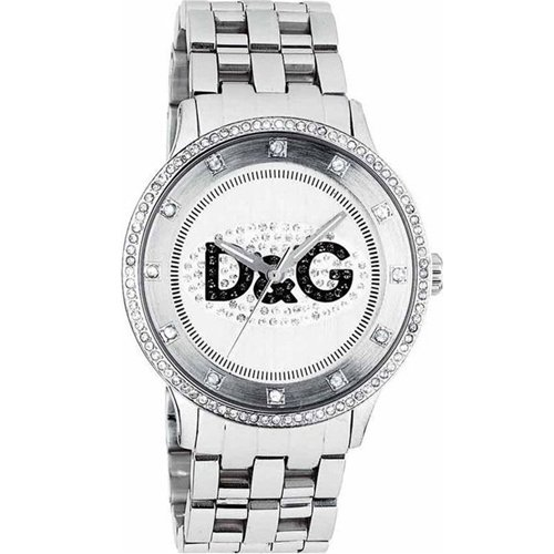 D & G Dolce & Gabbana Unisex Watch Analogue Quartz Stainless Steel DW0131