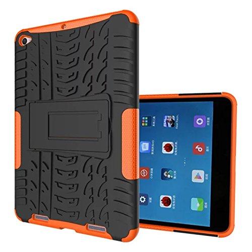 Xiaomi mi Pad 2 7.9'' Case,xiaomi mi Pad 3 Hülle,XITODA Tough Rugged ShockProof Hybrid Kickstand Protection Back Cover Case mit Stand für Xiaomi mi Pad 2 & Xiaomi mi Pad 7,9 Zoll Tablet-PC - Orange
