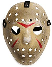 Landisun Costume Prop Horreur Masque de hockey Jason VS. Freddy Friday the 13th Halloween Myers