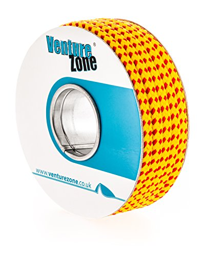 Premium Throw-Line 8mm Diameter, Buoyant and UV Resistant, Red/Yellow – 1, 2, 5, 15 & 30 Metre Lengths Test
