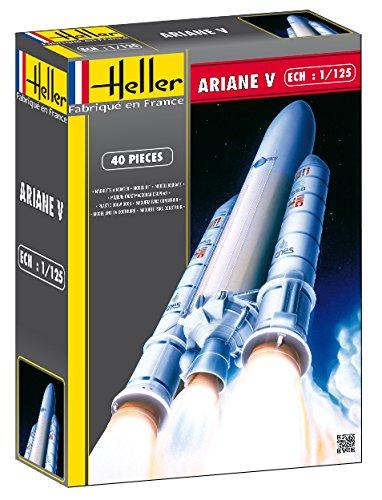 heller-80441-construction-et-maquettes-ariane-5-echelle-1-125eme